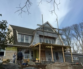 This Gambrel is a Winter's Dream ofSpring